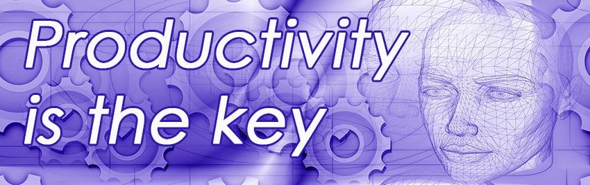 productivity-is-the-key