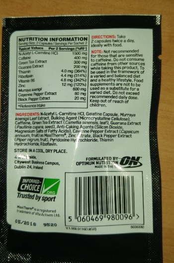 supplement with 400grams of caffeine.